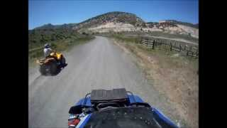 7. Can-Am Outlander 650 VS. Yamaha Grizzly 700 RACE!!!