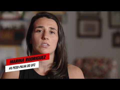 """""""Essa luta não chega no terceiro round""""   Marina Rodriguez   UFC 257"""