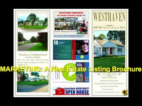MARKETING TIPS: How to Design A Real Estate Listing Brochure