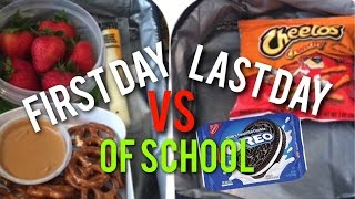Video First Day VS Last Day Of School!✏️😂 | SuperSisters MP3, 3GP, MP4, WEBM, AVI, FLV Maret 2018