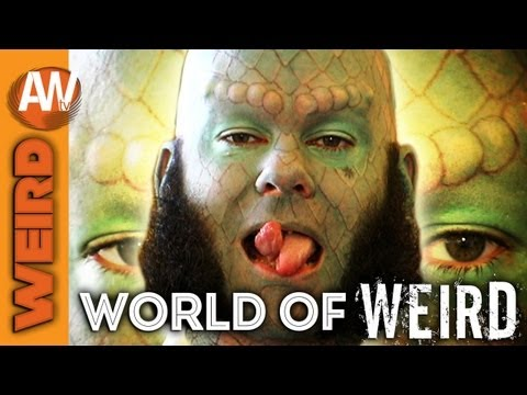World of Weird - Lizardman