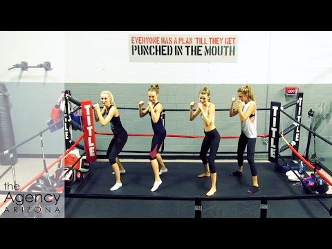 Model Vlog | Sarah goes to MMA class
