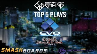 Top 5 SSBM Plays of EVO 2015
