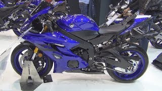 6. Yamaha YZF-R6 (2019) Exterior and Interior