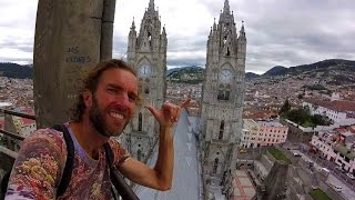 Quito Ecuador  City new picture : A Walking Tour of Beautiful QUITO, Ecuador