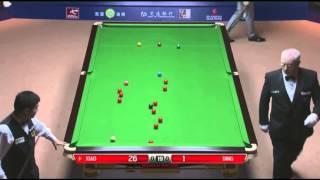 Xiao Guodong - Ding Junhui (Frame 1) Snooker Shanghai Masters 2013 - Final