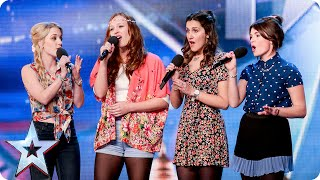 Video Disney singers Misstasia want EVERYONE to be happy, like ALL the time! | Britain's Got Talent 2015 MP3, 3GP, MP4, WEBM, AVI, FLV Agustus 2018