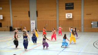 Ostfildern Germany  city pictures gallery : Group Dance on Bollywood song - Ostfildern Germany