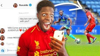 Video I Sent A DM To 100 FOOTBALLERS To Join Their Team & IT WORKED ft Ronaldo, Hazard & Pogba MP3, 3GP, MP4, WEBM, AVI, FLV Juni 2019