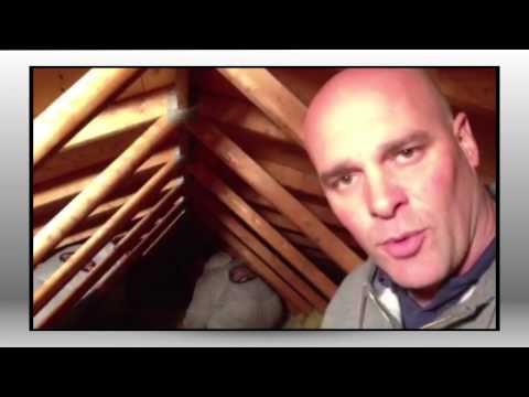 Removing Attic Insulation with Bryan Baeumler