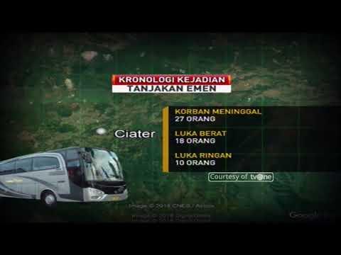 Kronologi Kecelakaan Maut Bus Di Tanjakan Emen Subang