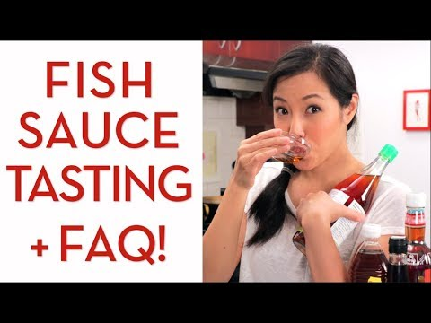 FISH SAUCE Tasting & Everything You Need to Know - Hot Thai Kitchen!