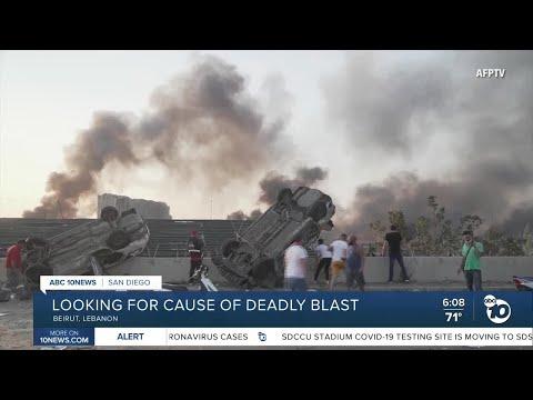 Former San Diegan describes Beirut explosion 'shock wave'