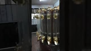 Silindirik kahve silosu