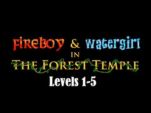 Fireboy and Watergirl 1 Walkthrough