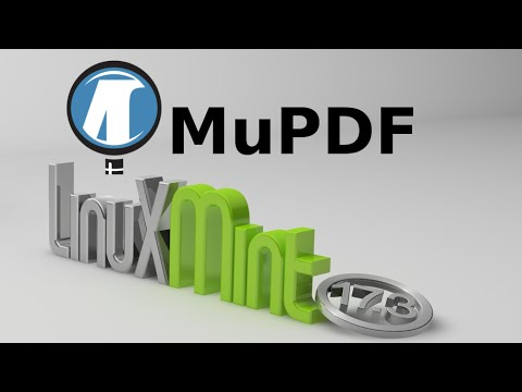 Install MuPDF (Lightweight PDF and XPS Viewer) in Linux Mint / Ubuntu via PPA