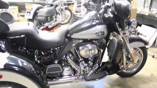 5. 2013 Harley-Davidson Tri Glide Ultra Classic - First Look at Harley-Davidson's 2013 Trike
