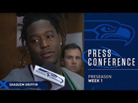 Seahawks Linebacker Shaquem Griffin Postgame Press Conference vs Colts