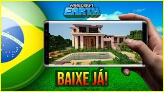 Como Jogar & Participar do Beta Minecraft Earth no Brasil! by Pokémon GO Gameplay