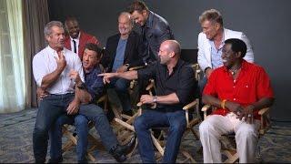 Video Sylvester Stallone, Cast Talk 'The Expendables 3' MP3, 3GP, MP4, WEBM, AVI, FLV September 2018