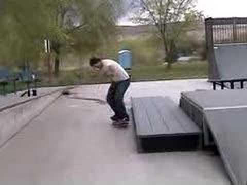 Skating the Benton City Park