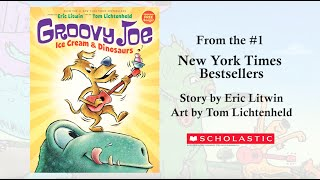 Groovy Joe, Ice Cream and Dinosaurs - Book Trailer