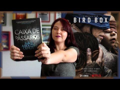Bird Box / Caixa de Pássaros - Diferenças Filme x Livro + REACT | Cinelivro | Louca dos livros 2018
