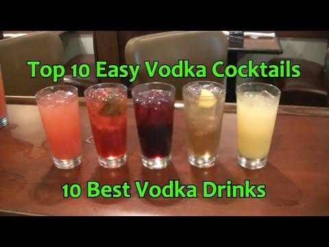 Top 10 Vodka Cocktails Easy Vodka Drinks Best Vodka Cocktail