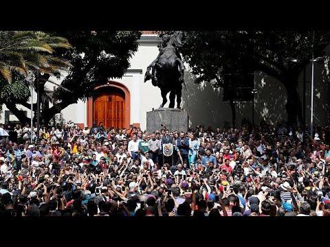 Ευρωπαίοι προς Καράκας: Ελεύθερες εκλογές ή πρόεδρος ο Γκουαϊδό…