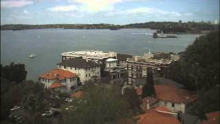 Sydney Webcam Time Lapse for Sat, 18th October 2014