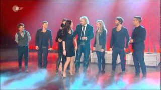 Take That Auftritt Wetten Dass Halle 2011-02-12