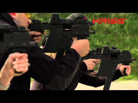 kriss - For more information on the KRISS Vector and the Super V Recoil Mitigation System visit http://www.kriss-usa.com/technology The patented KRISS system actuall...