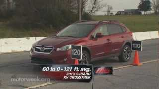 Road Test: 2013 Subaru XV Crosstrek