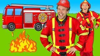 Video Firefighters Song for Kids - Fire Truck Song - Fire Trucks Rescue Team | Kids Songs MP3, 3GP, MP4, WEBM, AVI, FLV Agustus 2018