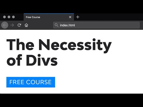 The Necessity of Divs