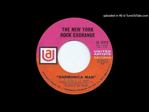 THE NEW YORK ROCK EXCHANGE: Harmonica Man (United Artists Records) 1960s