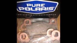 7. 2202413 Polaris OEM Brake Pads-Discount Shipping.