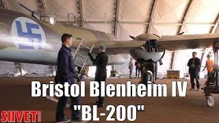 "7. Bristol Blenheim Mark IV Bomber ""BL-200"" Roadtrip - Wing Attachment - FinAF 100 Years"