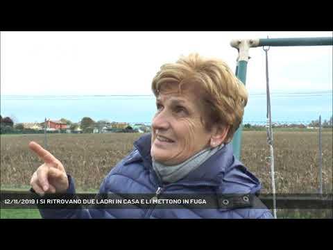 12/11/2019 | SI RITROVANO DUE LADRI IN CASA E LI METTONO IN FUGA