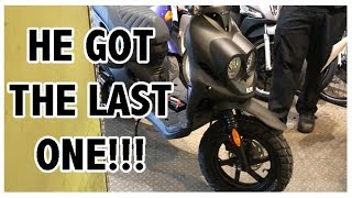 8. Vlog 151 : NICK BUYS a 2018 GENUINE ROUGHHOUSE RH50 Scooter (2 STROKE)