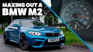 Maxing Out A BMW M2 On The Autobahn by Car Throttle