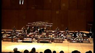Listen for Life ( http://www.listenforlife.org ) presents: Gamelan (gong ensemble) is unique to each of the main islands of Indonesia. This ensemble performance ...
