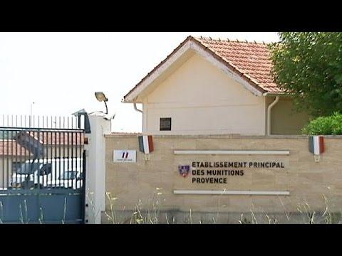 Des détonateurs et des explosifs volés sur un site militaire français