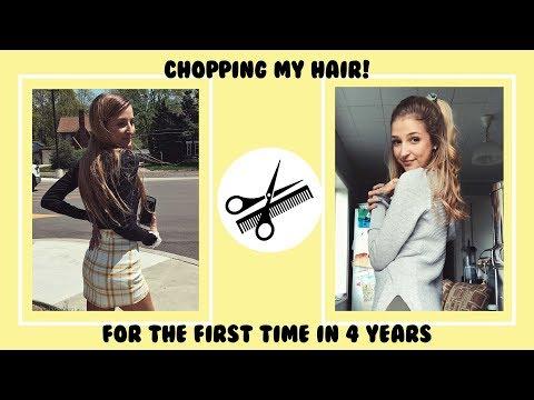 Hair cutting - CHOPPING OFF ALL MY HAIR!
