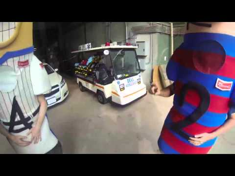 Behind the Scenes at the Brewers' Sausage Race | The Dan Patrick Show | 6/24/13