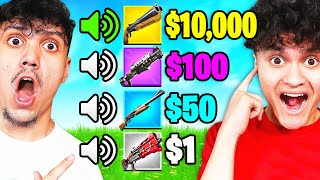 First to Guess the Gun Sound Wins $10,000 - Fortnite Challenge