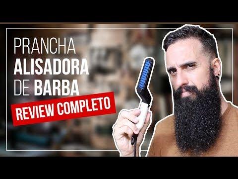 Prancha ALISADORA de BARBA: Review COMPLETO  Beard Straightening Brush review