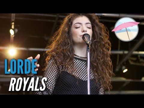Lorde – Royals (Live at the Edge)