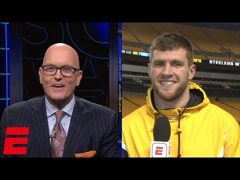 T.J. Watt explains how Steelers pressured Cam Newton in victory | SC with SVP
