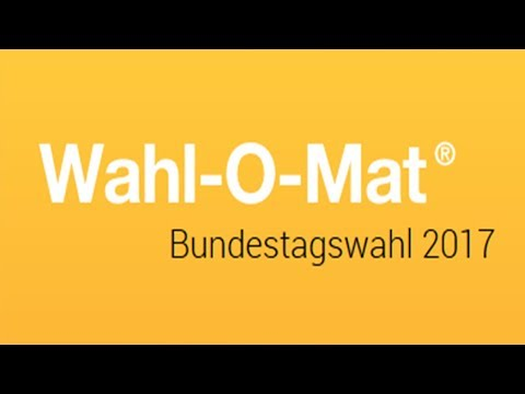 Wahl-O-Mat zur Bundestagswahl gestartet